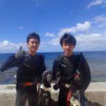 沖縄ダイビング☆9/12珊瑚礁体験ダイビング 10:30~ なすび