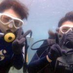 沖縄ダイビング☆9/17 青の洞窟体験ダイビング 15:30~ しおん・やす