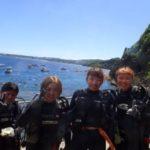 沖縄ダイビング☆9/11 青の洞窟体験ダイビング 10:30~ なすび・しおん・やす