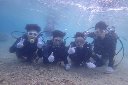 沖縄ダイビング☆9/19 珊瑚礁体験ダイビング 15:30~ しおん