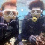 沖縄ダイビング☆ 9/17 青の洞窟体験ダイビング13:00~ しおん・やす