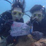 沖縄ダイビング☆9/23 珊瑚礁体験ダイビング 14:00~ なすび・ローラ