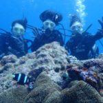 沖縄ダイビング☆9/16 珊瑚礁体験ダイビング 8:00~ なすび・ローラ