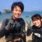 沖縄ダイビング☆9/17 青の洞窟体験ダイビング 8時~ しおん・やす
