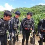 沖縄ダイビング☆9/28 青の洞窟体験ダイビング 13:00~しおん・やす・ローラ