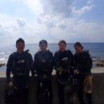 沖縄ダイビング☆10/28 珊瑚礁体験ダイビング 13:00~ なすび・ローラ・やす