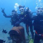 沖縄ダイビング☆11/30 珊瑚礁体験ダイビング 14:00~ しおん・やす