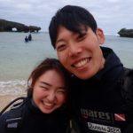沖縄ダイビング☆1/1珊瑚礁体験ダイビング 11:30~ しおん・やす