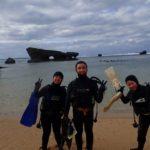 沖縄ダイビング☆1/1 珊瑚礁体験ダイビング 13:00~ しおん・やす