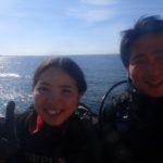 沖縄ダイビング☆1/2 極上2DIVE 体験ダイビング 13:00~ とも・やす