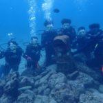 沖縄ダイビング☆1/4 珊瑚礁体験ダイビング 13:00~ とも・しおん・やす