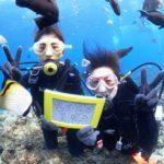 沖縄ダイビング☆1/24 珊瑚礁体験ダイビング 11:30~ どら