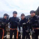 沖縄ダイビング☆2/29 青の洞窟体験ダイビング 13:00~ しおん・ローラ・やす