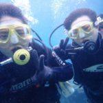 沖縄ダイビング☆2/25 青の洞窟体験ダイビング 15:00~ しおん・やす