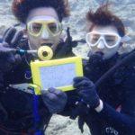 沖縄ダイビング☆3/26 青の洞窟体験ダイビング 13:00~ やす・しおん・ばっしー