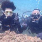 沖縄ダイビング☆ 3月10日 珊瑚礁体験ダイビング ローラ・なすび・しゃり