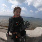 沖縄ダイビング☆ 3/25 ビーチ FUN しおん