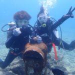 沖縄ダイビング☆3/24 珊瑚礁体験ダイビング 13:00~ しおん・ローラ