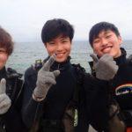 沖縄ダイビング☆3/31 極上2DIVE体験ダイビング 10:30~ やす・ローラ・しおん