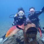 沖縄ダイビング☆4/7 珊瑚礁体験ダイビング 10:30~ やす・なすび