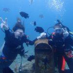 沖縄ダイビング☆5/25 サンゴ礁体験ダイビング 10:30~ ローラ・ヤス・しおん