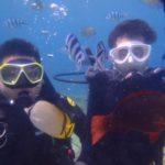 沖縄ダイビング☆6/24 青の洞窟体験ダイビング 13:30~ やす・とも
