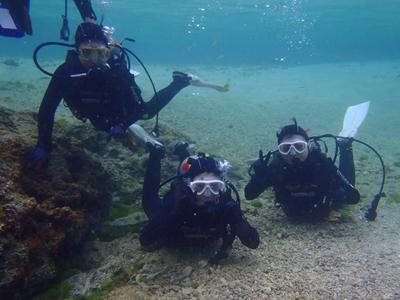 沖縄ダイビング☆2/24 珊瑚体験ダイビング たく・しおん
