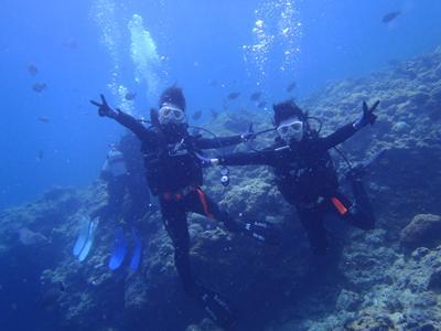 沖縄ダイビング☆3/30 青の洞窟体験ダイビング 10時 ゆうき
