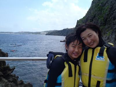 沖縄ダイビング★3/30 青の洞窟スノーケル 10時半 えりな