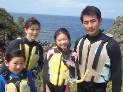 沖縄ダイビング☆4/30 青の洞窟スノーケル しおん