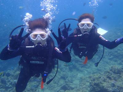 沖縄ダイビング☆5/27 青の洞窟体験ダイビング 10時~ りょうけん
