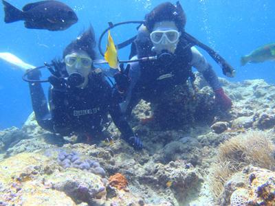 沖縄ダイビング☆7/31 10時~ 青の洞窟体験ダイビング りょうけん